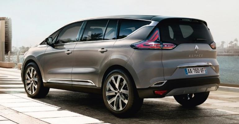CUV shares new platform with Nissan vehicle Megane others to follow