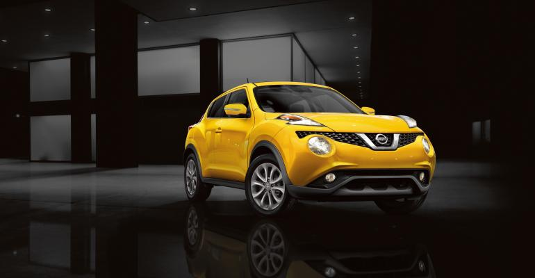 Nissan Juke receives various enhancements for rsquo15 model year