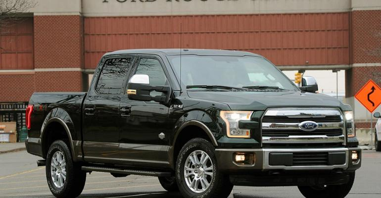 Output of new rsquo15 F150 pickup to reach optimal level next year
