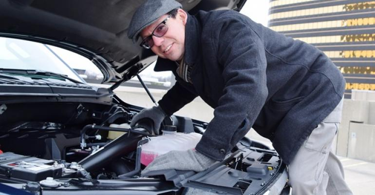 Judge Tom Murphy inspects 27L EcoBoost in F150