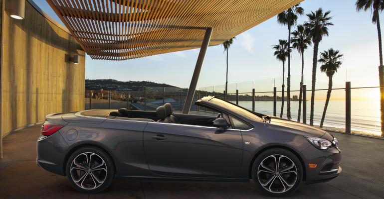 rsquo16 Buick Cascada bows in Detroit