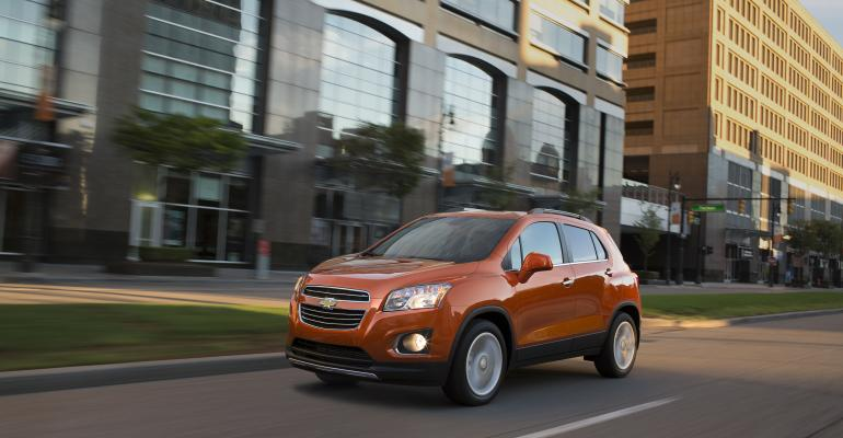 rsquo15 Chevy Trax arriving at US dealers