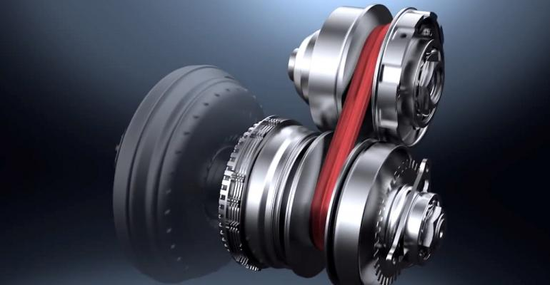 Growth forecast for continuously variable transmissions such as Nissanrsquos Xtronic CVT