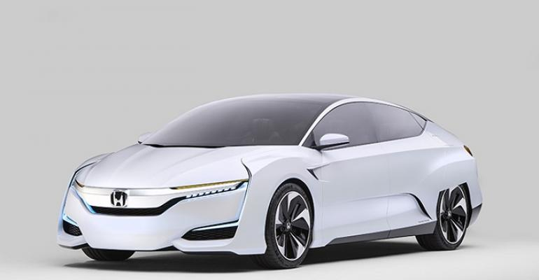Honda39s nextgeneration fuelcell vehicle on sale in US in 2016