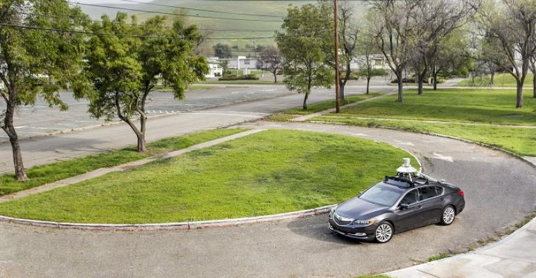 Honda testing automated connected technologies on Acura RLX near Silicon Valley