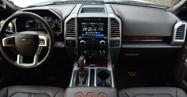 Ford F-150 King Ranch Interior Combines Luxury, Utility ...