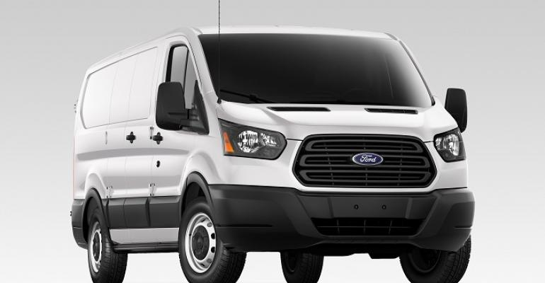 Ford Transit slightly underperforming Econoline