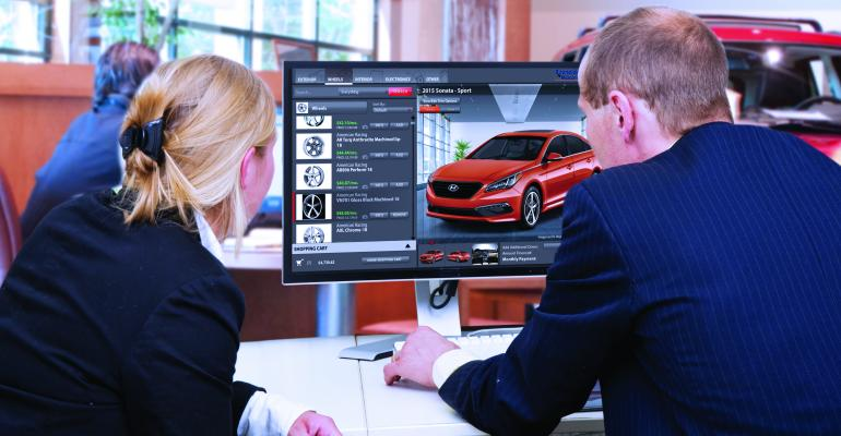 Reynolds says AddOnAuto configurator shows what specific cars would look like with accessories
