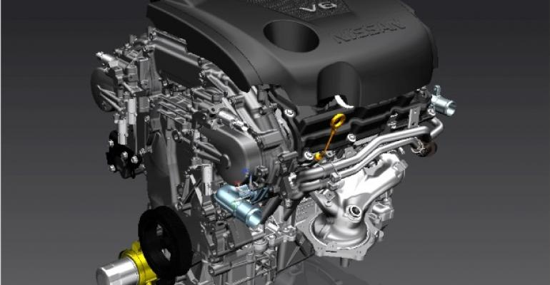 Nissanrsquos 35L VQ in new Maxima has fully redesigned cylinder head with new air intake ports