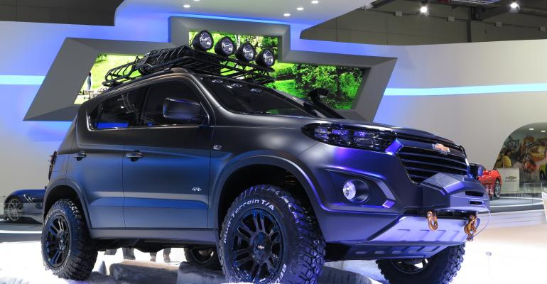 GMAvtoVAZ said to be going ahead with nextgen Chevy Niva shown in concept form here