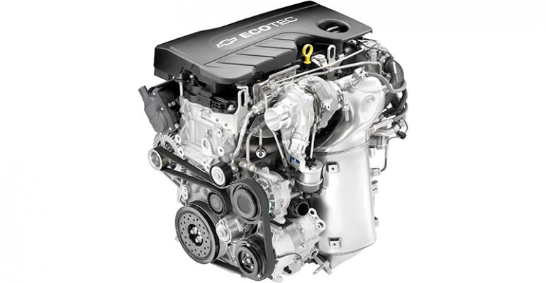 GMrsquos 16L 4cyl turbodiesel more powerdense than predecessor
