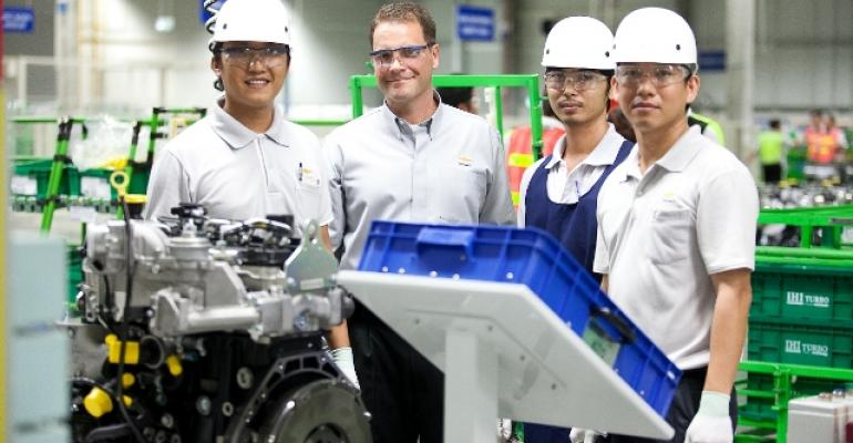 GMrsquos engine plant in Rayong Thailand launched secondgeneration Duramax diesel in 2013