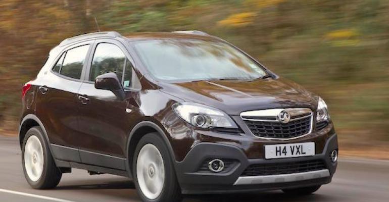 Mokka helps keep Vauxhall brand on heels of market leader Ford