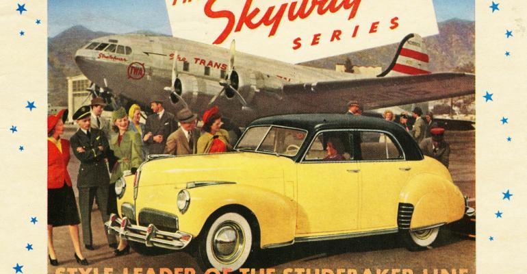 1941 Studebaker Land Cruiser Skyway sedan