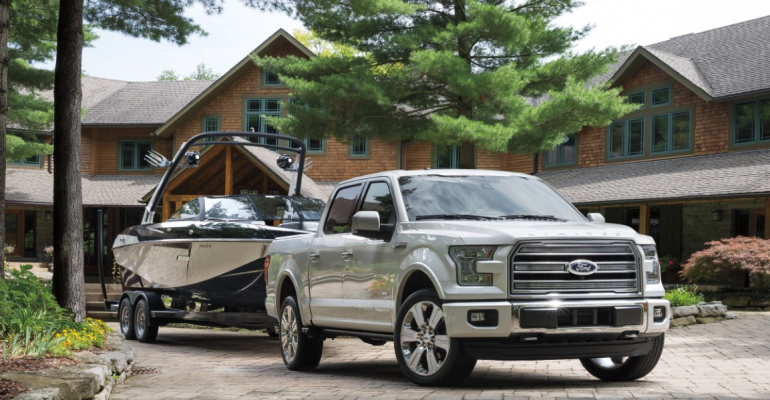 Ford launches highend F150 Limited from posh Newport Beach CA