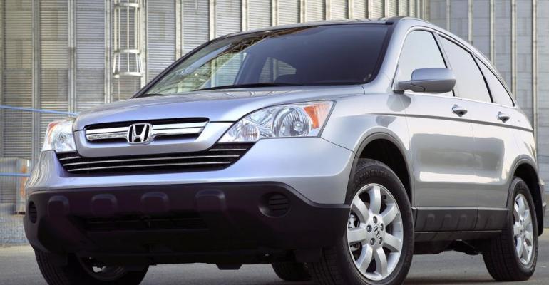 Older Honda CRVs included in Indiarsquos biggestever recall