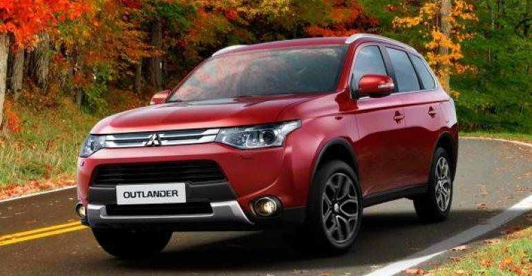 Outlander PHEV tops list in UK