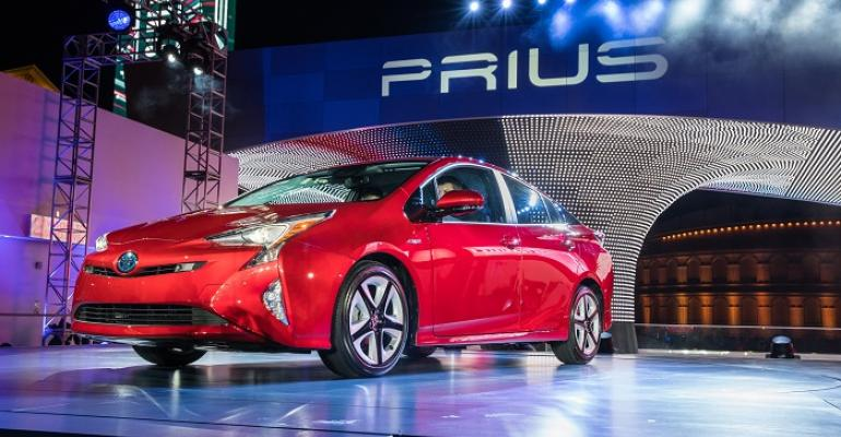 3916 Toyota Prius on sale early next year