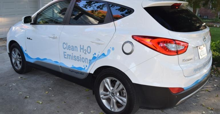 Hyundai Tucson FCV now being driven by 82 customers in California and 10 in Vancouver