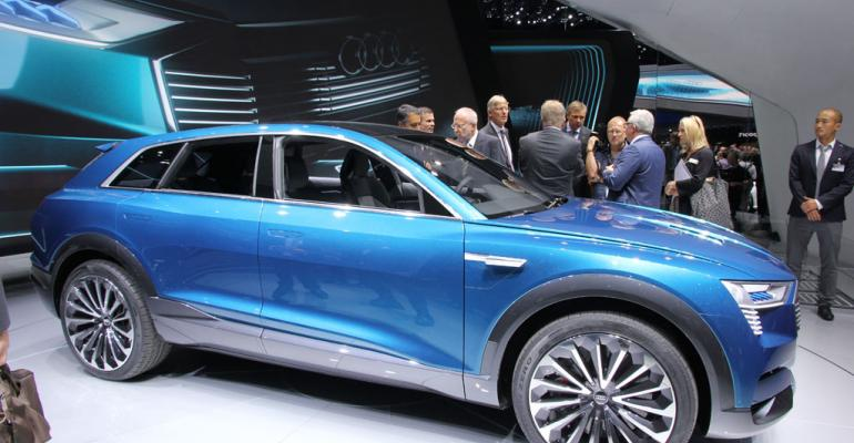 Audi Q6 etron concept part of Volkswagenrsquos new electrification strategy