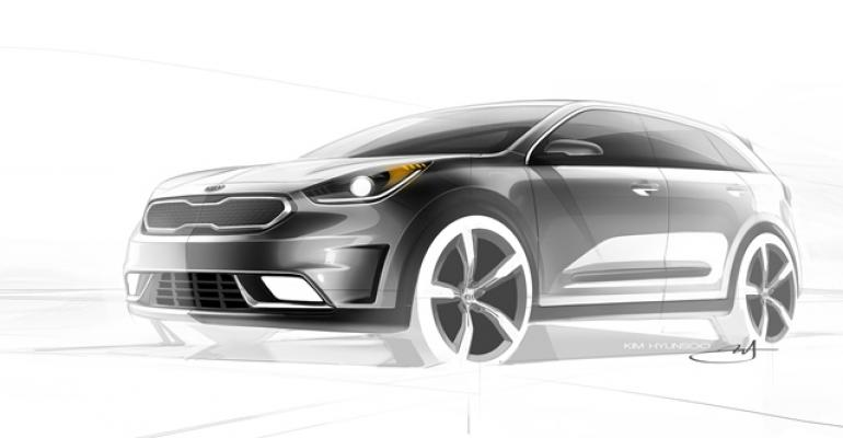 Niro developed outside of existing Kia products