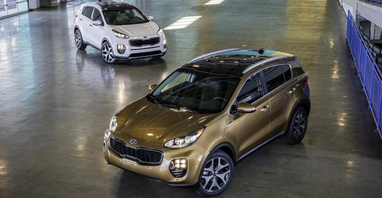 rsquo17 Kia Sportage on sale next year