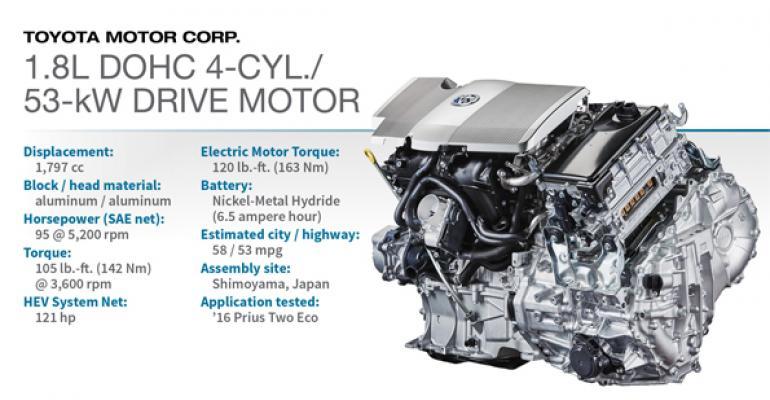 2016 Winner Toyota 1 8l Dohc 4 Cyl 53 Kw Drive Motor