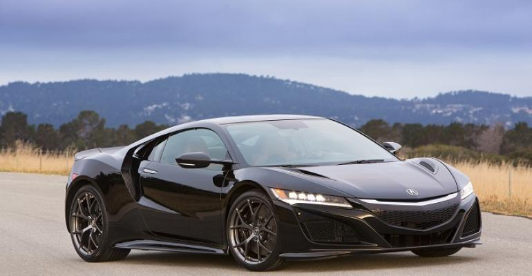 NSX likely to be featured in commercial