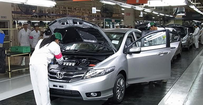 Automakers say pact would boost exports and plant capacity utilization