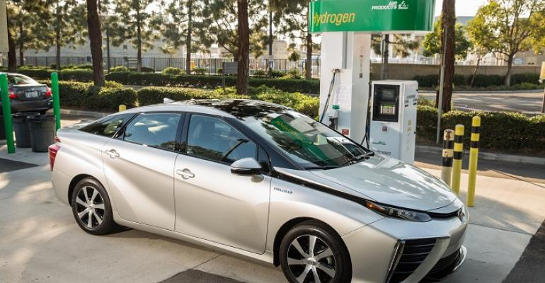 Mirai on sale since October in California