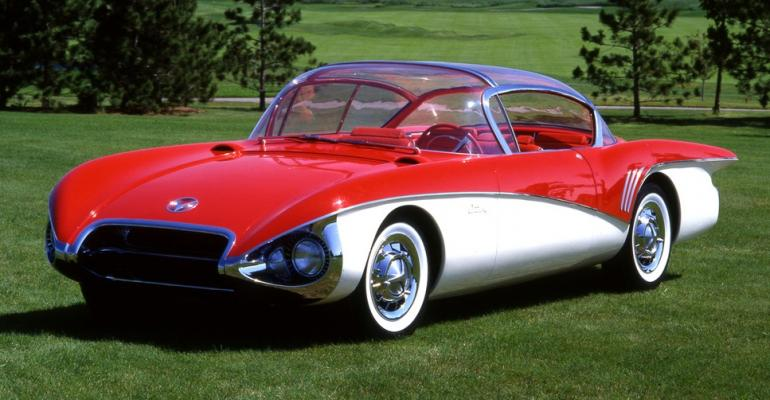 1956 Motorama Buick Centurian concept car