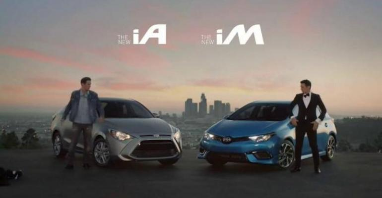 Scion ad themed around two versions of Franco