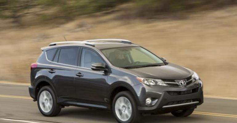RAV4 sales up 178 last year