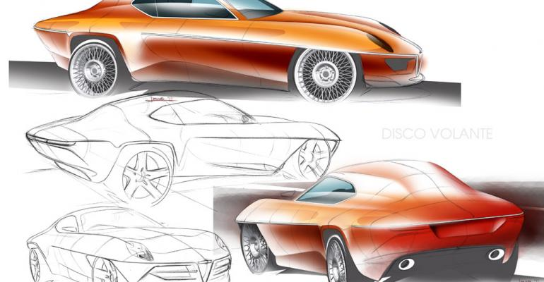 Some suggest concept topless version of 2012 Disco Volante concept above