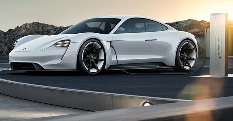 Italdesign concept to avoid comparison with Porsche Mission E above