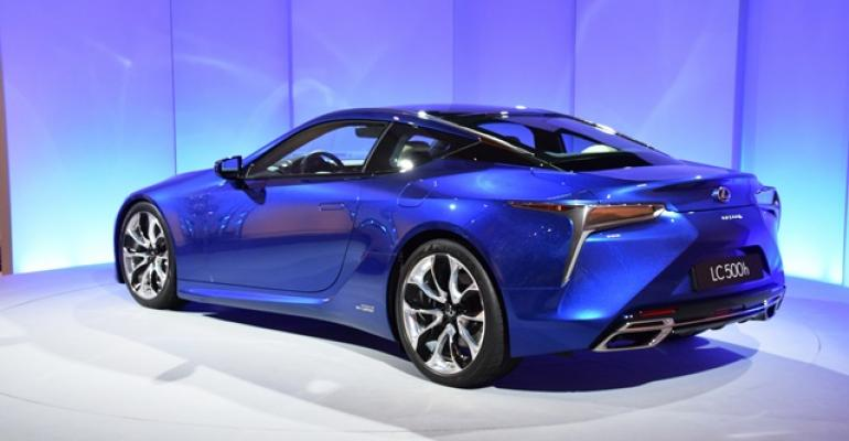 LC 500h goes on sale globally in mid2017