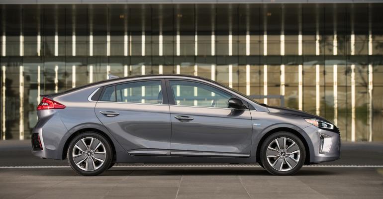 Hyundai Ioniq hybrid on sale late this year in US