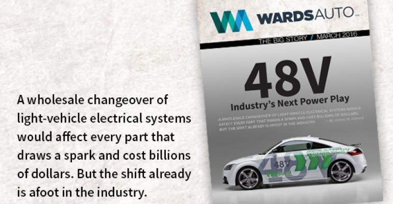 The Big Story: 48V Industry's Next Power Play