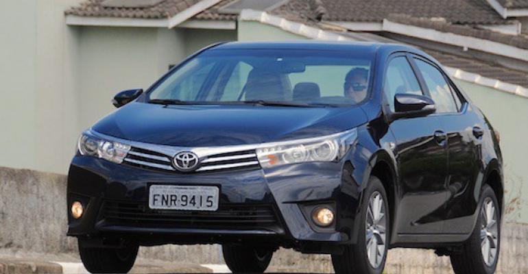 Toyota capitalizes on Brazilrsquos ethanol mandate with Corolla Flex