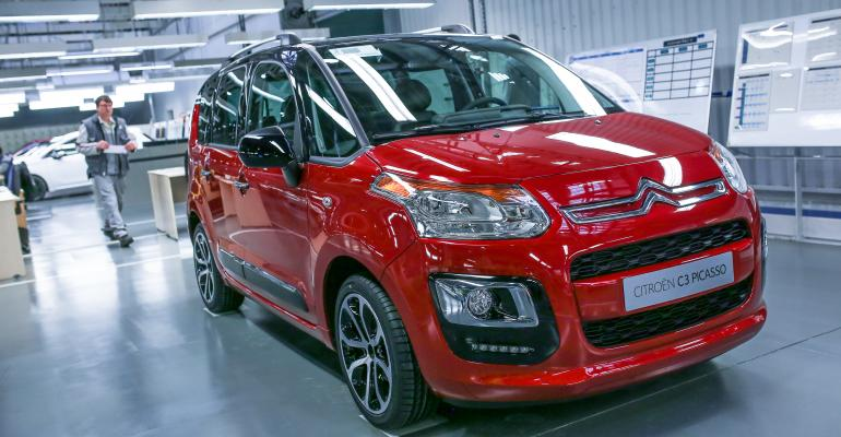 Locally built Citroen C3 Picasso among Slovakiarsquos top sellers