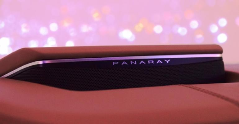 Bose Panaray sound system is 3700 option in Cadillac CT6