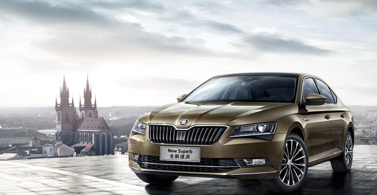 Flagship Superb sedan hitting sweet spot among Chinese customers