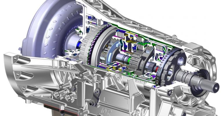 10speed transmission developed by Ford shared with GM
