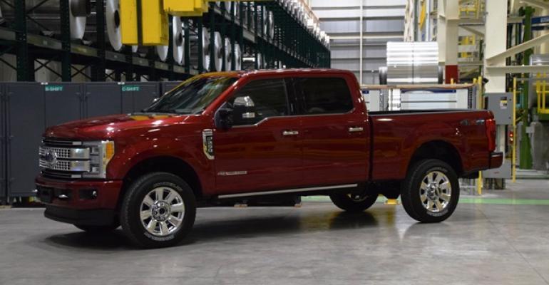 Ford Super Duty now among vehicles receiving Novelis aluminum