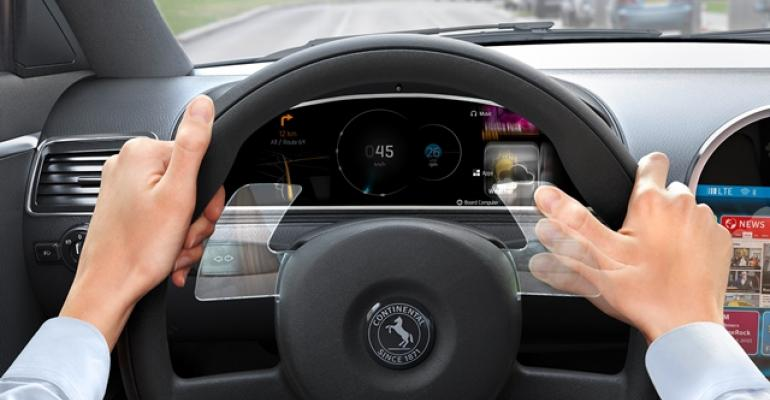 Continental expects Hands on Wheel Gesture technology to be available for production in 2018
