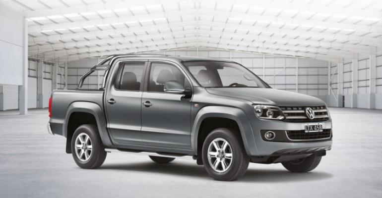 VW Amarok among pickups driving sales recovery