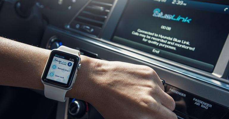 Covisint behind Hyundai39s Apple Watch BlueLink app