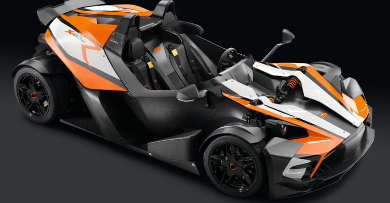 Racetrack owners first in US to receive pitch for ultralight sports car
