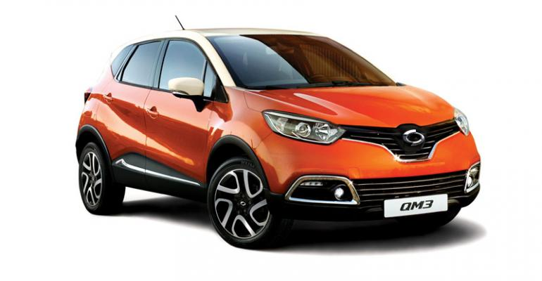 Renault Samsung | Popular QM3 Too Costly to Build at Home, CEO Says | WardsAuto
