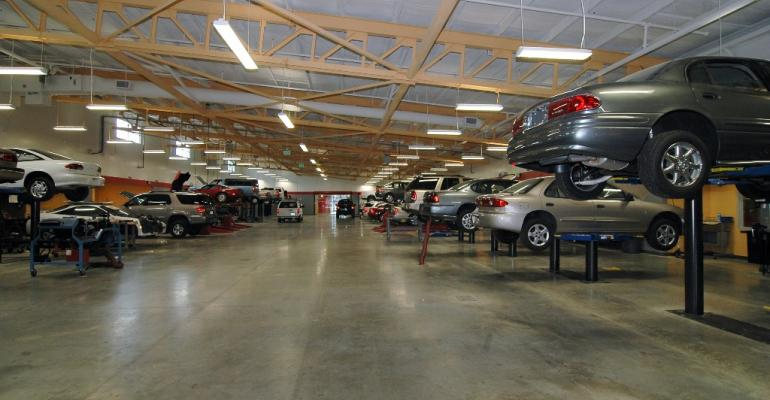 Central Florida Auto Dealers Assnrsquos training centerrsquos shop floor at Seminole State College